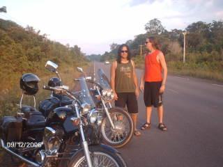 Estrada para Cachoeira do Santuário